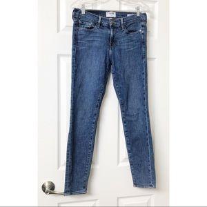 Frame Le Skinny Medium Wash Jeans 28